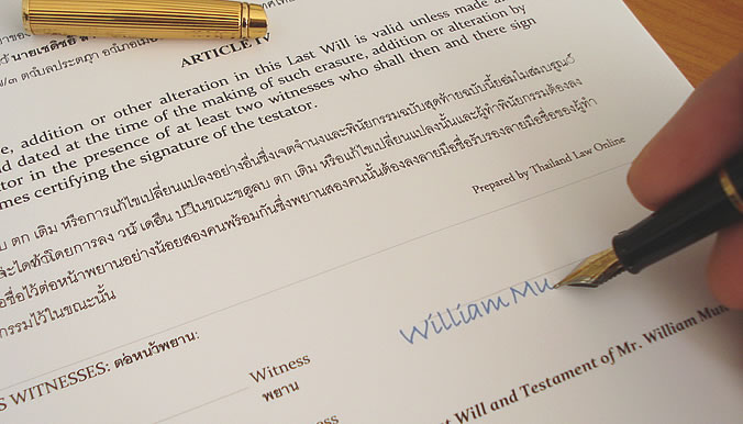 how do you write a will and testament A last will and testament is a legal document that details how a person's assets and property will be distributed after their death creating a will as a part of an estate plan ensures the person making the will, known as the testator, will have their wishes followed and that the people closest to them are taken care of.